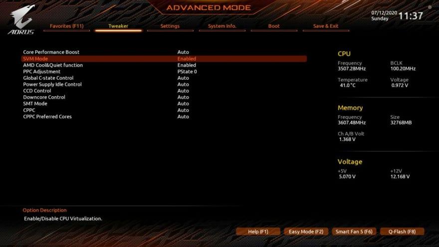 amd-cpu-virtualization