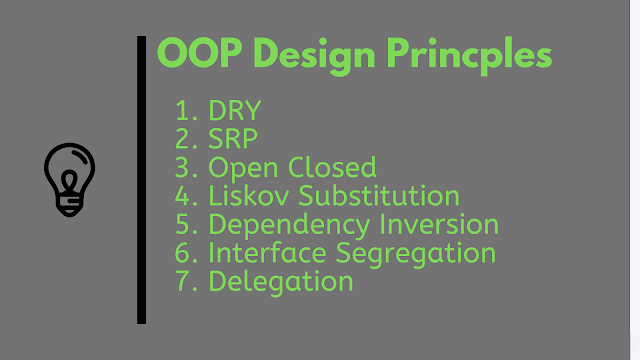 Top 10 Object-Oriented Design Principles for writing Clean Code