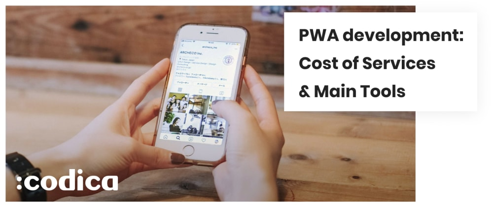 Cover image for Progressive Web Application Development: Cost of Services & Main Tools