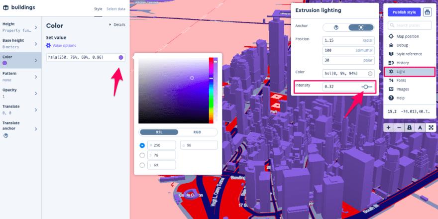Extruding 3D buildings in Mapbox Studio - DEV Community 👩 💻👨 💻
