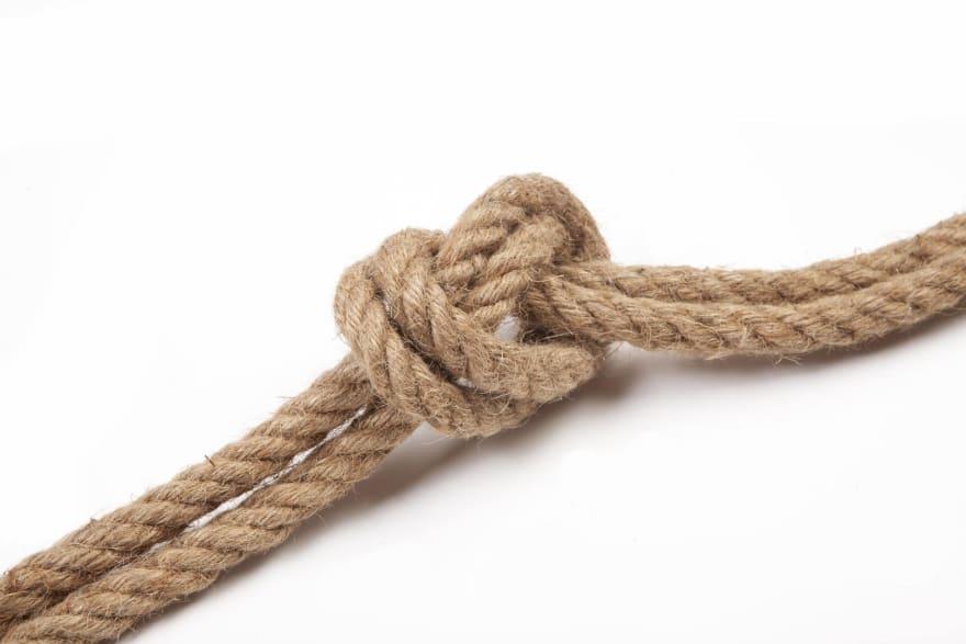 knot in string unsplash