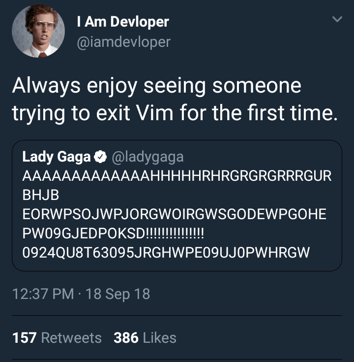 exit vim