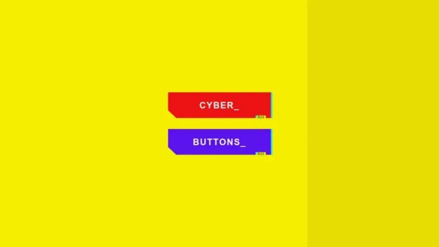 Cyberpunk 2077 Buttons