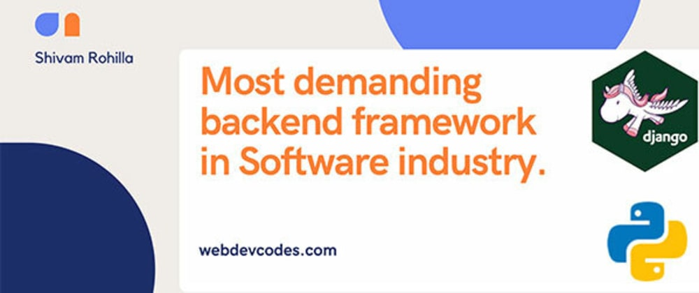 Cover image for Most demanding backend framework in Software industry.