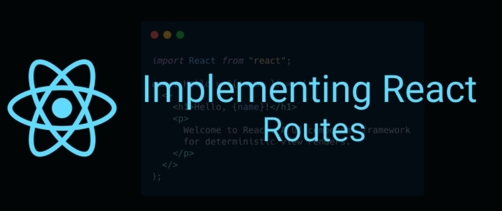 Cover image for Implementing React Routes (Part -2) Link Vs NavLink
