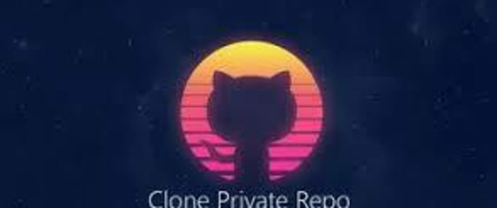 Cover image for How to get Clone a private Github repo!?