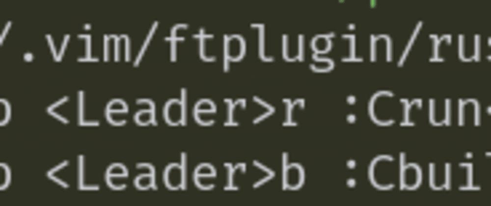 Cover image for File-Specific Vim Configuration