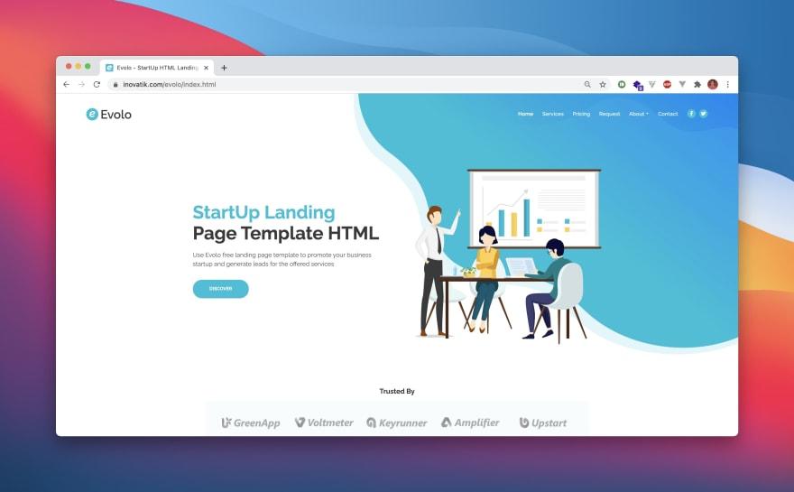 Evolo HTML Template