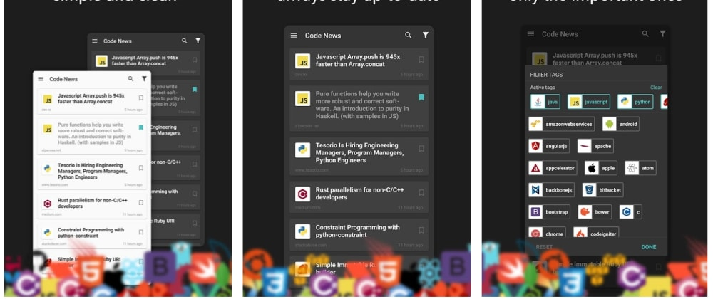 Cover image for We added DEV articles into our Coding News App