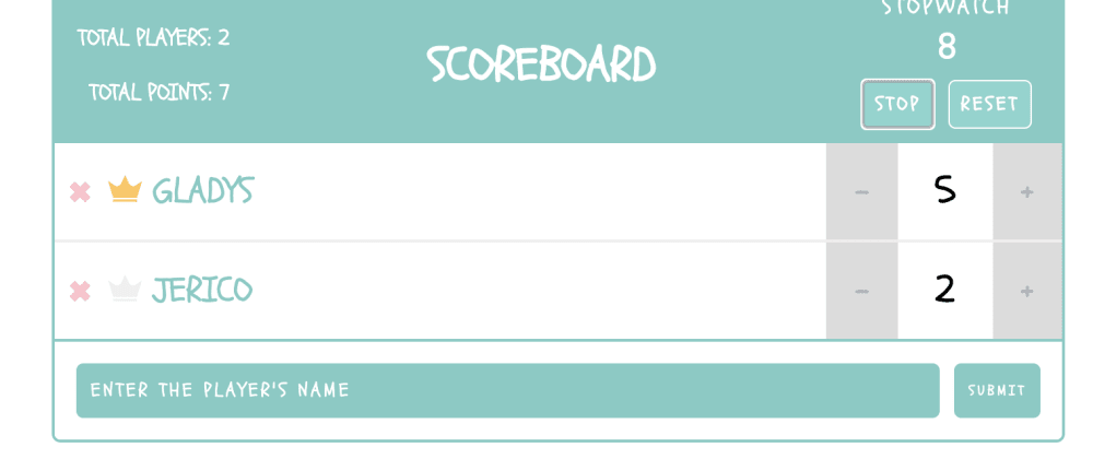 Cover image for Scoreboard App