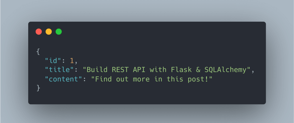 Cover image for Build REST API with Flask & SQLAlchemy