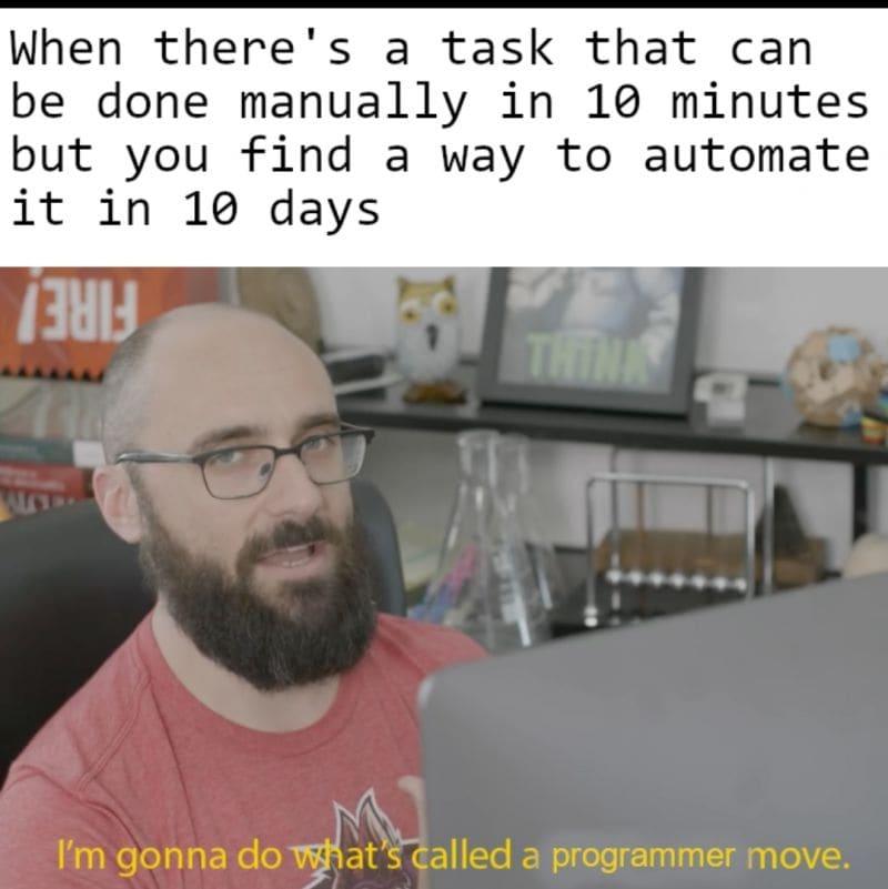 Programmer move