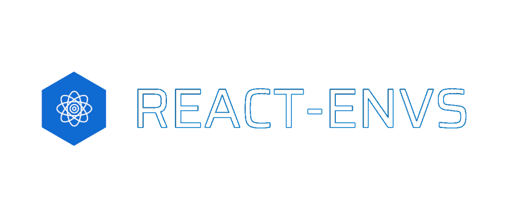 Cover image for react-envs