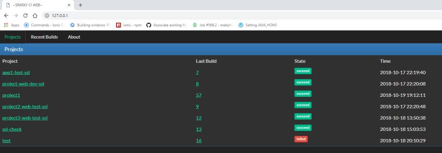 Nice web UI