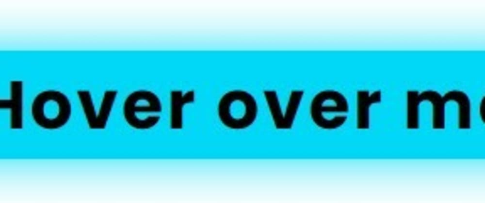 Cover image for CSS glowing effect on hover