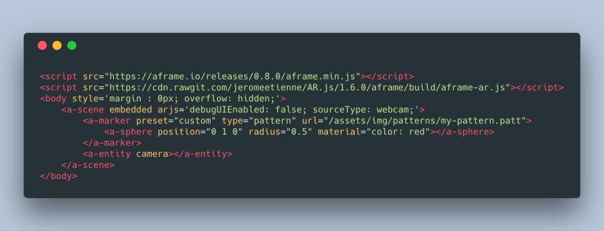 Adding a custom 3D model with custom marker to an AR.js app