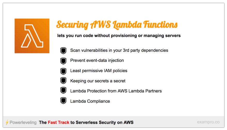 The Fast Track to Serverless Security on AWS - DEV Community