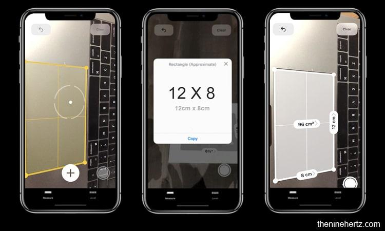 iOS 12 Public Beta 3 measure app update