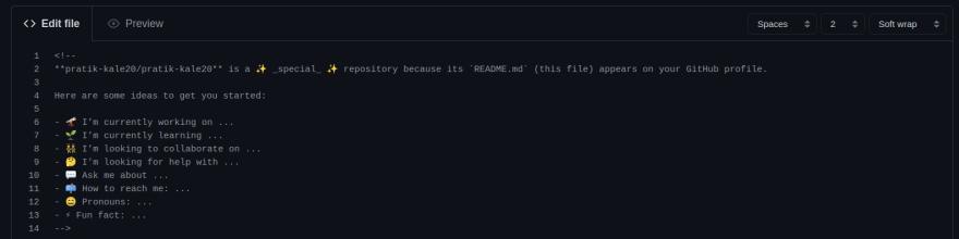 GitHub Readme