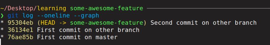 other branch log