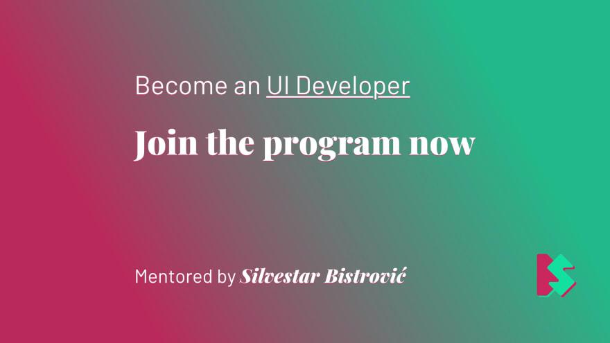 Join the UI mentoring program.