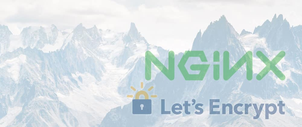Cover image for Nginx, Let's Encrypt and taking my own server down 😢