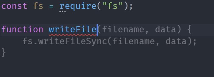Write File Function