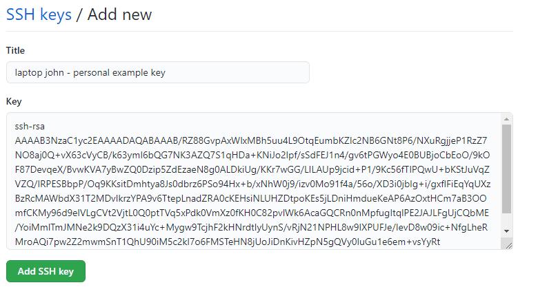 Aprende a crear una llave ssh
