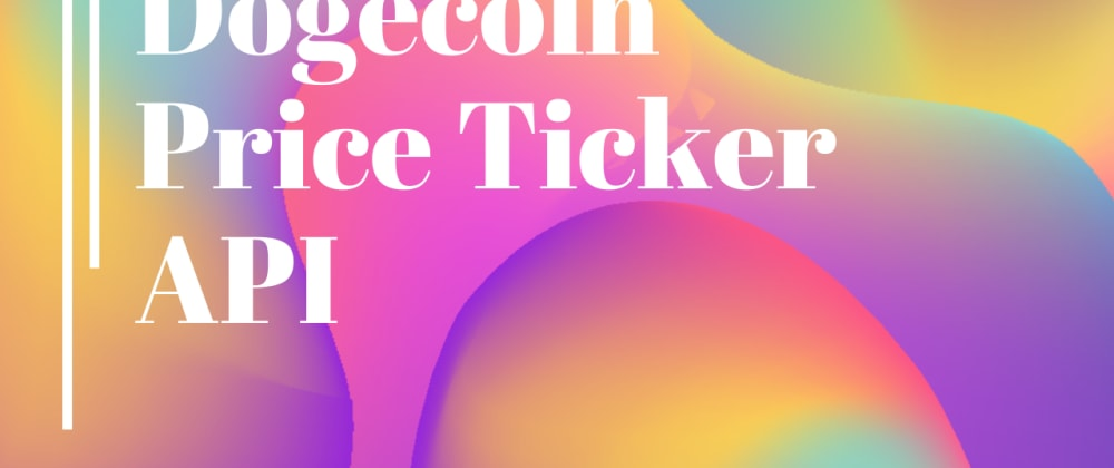 Cover image for Python Scripts-Dogecoin Price Ticker