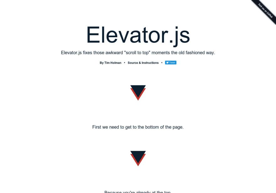 Elevator.js