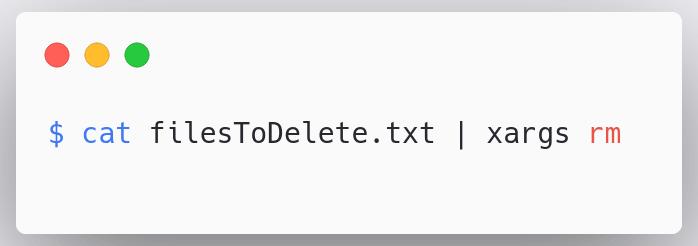 delete-files-xargs