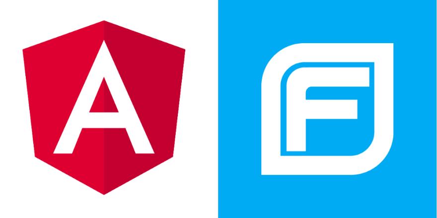 image of the Angular and Fortify logos.