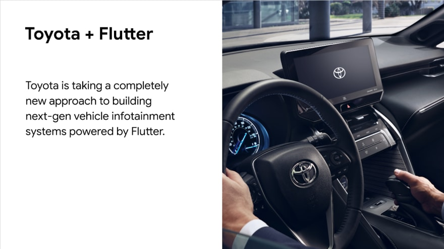 Toyota and Flutter