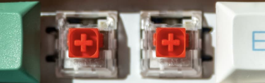 Kailh Red box switches