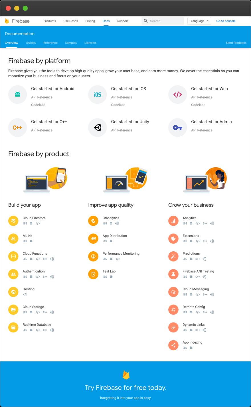 Firebase – docs