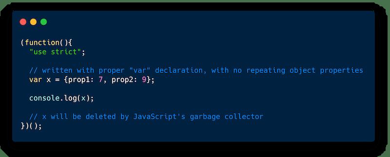 Strict Code Example