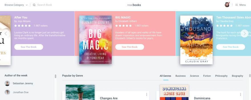 Book Store UI