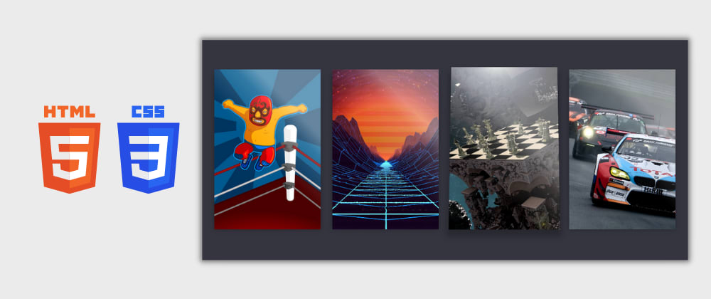 Cover image for Day 8/30 : Game Card Hover Effects using HTML and CSS