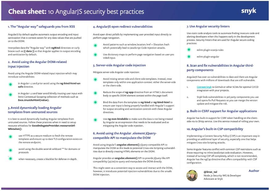AngularJS Security Fundamentals