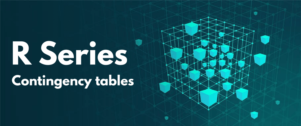 Cover image for Contingency tables in R