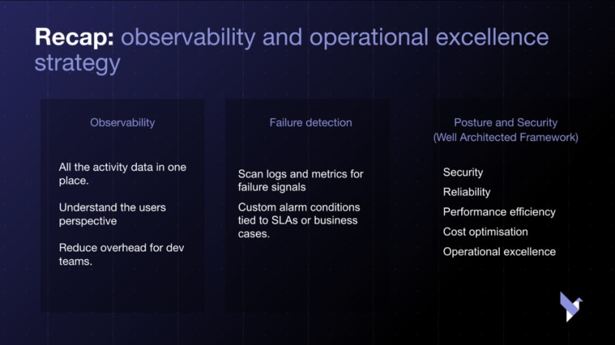 recap on operational excellence