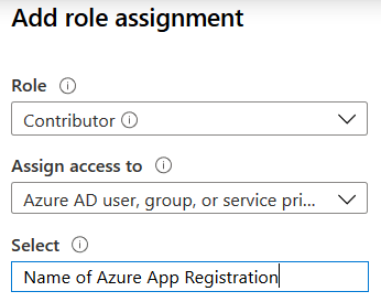 Add role assignment