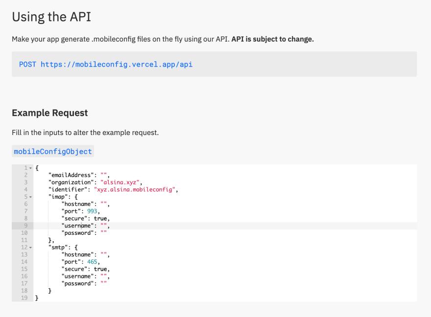 API Preview