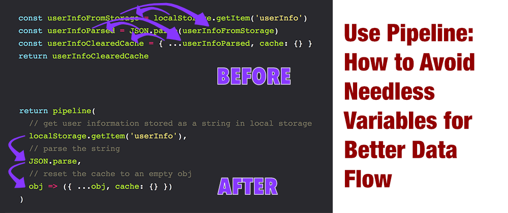 Cover image for How To Simplifiy Code By Removing Variables