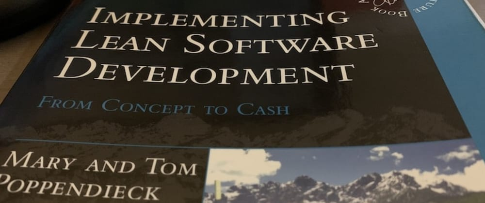 Cover image for Book notes: Implementing Lean Software Development