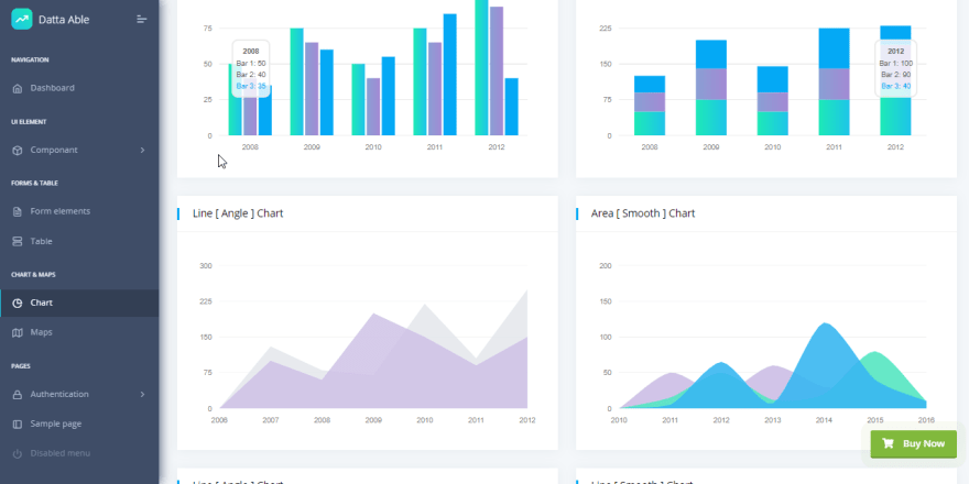 Datta Able - Open-Source and Free Bootstrap4 Admin Panel.
