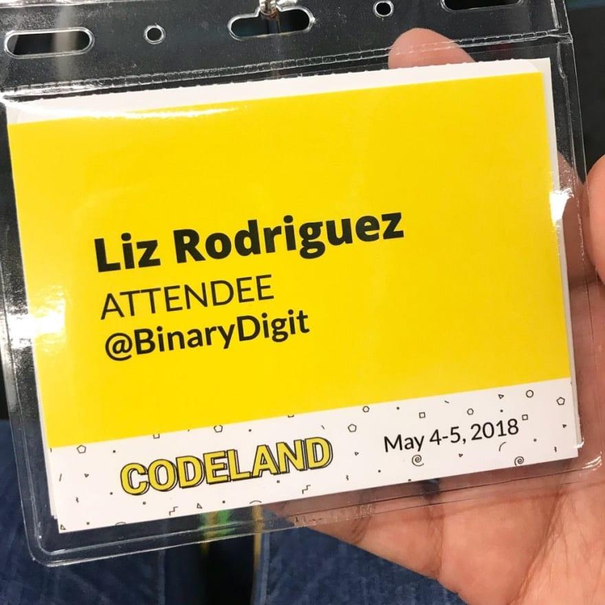 Codenewbie's Codeland Conf in NYC