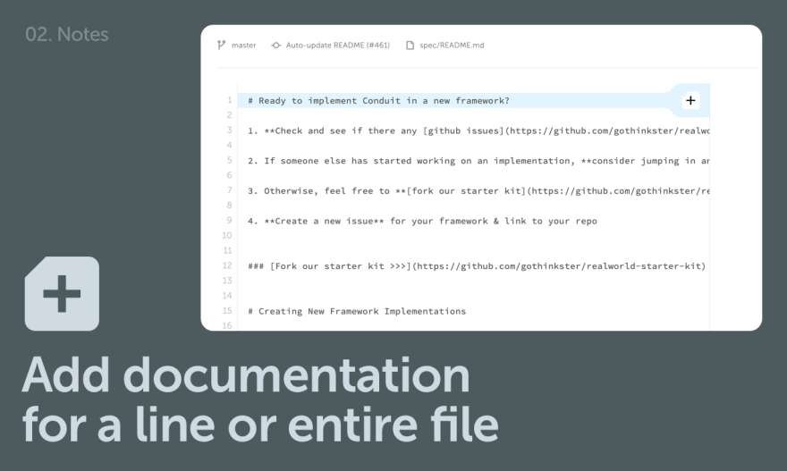 Add documentation for a file
