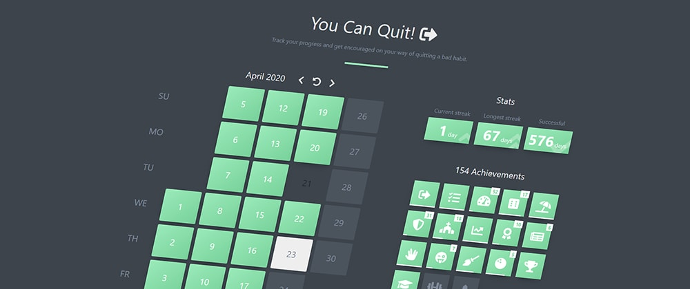 Cover image for You Can Quit! ...with the help of Vue and Dexie