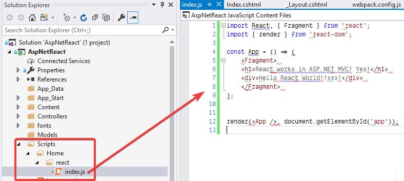 Setting up a React Environment for ASP NET MVC - DEV Community